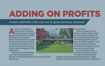 Adding on Profits – Landscape Management