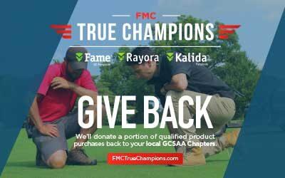 FMC corporation gives back