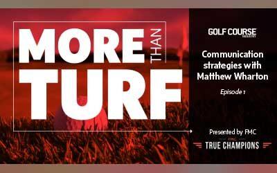 More Than Turf 1: Communication strategies with Matthew Wharton